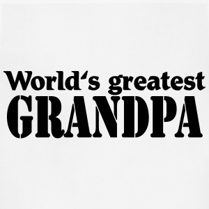 Worlds greatest Grandpa Long Sleeve Shirts - Adjustable Apron