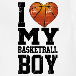 i_love_my_basketball_boy Women's T-Shirts - Adjustable Apron