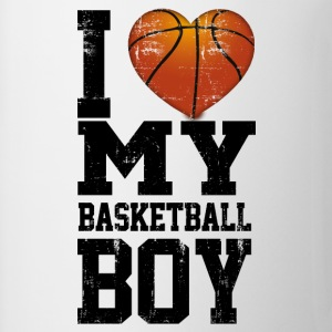 i_love_my_basketball_boy Women's T-Shirts - Coffee/Tea Mug
