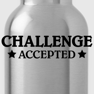 Challenge accepted Tanks - Water Bottle