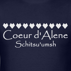 Children's hnlamqe' Back, Coeur d'Alene Schitsu - Men's T-Shirt
