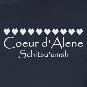 Children's hnlamqe' Back, Coeur d'Alene Schitsu - Men's Long Sleeve T-Shirt