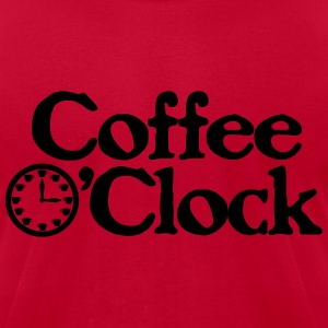 Coffee O'clock Funny Parody Java Apparel Long Sleeve Shirts - Men's T-Shirt by American Apparel