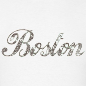 Boston Script Apparel T-shirts Hoodies - Men's T-Shirt