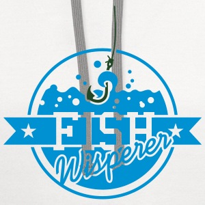 Fish Whisperer (2c) T-Shirts - Contrast Hoodie
