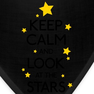 keep calm stars Women's T-Shirts - Bandana