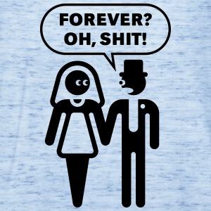 Forever? Oh, Shit! (Wedding / Stag Party / 1C) T-Shirts - Women's Flowy Tank Top by Bella