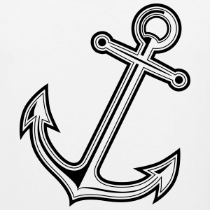 anchor T-Shirts - Men's Premium Tank