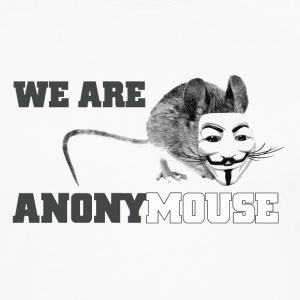 We are anony mouse - anonymous Kids' Shirts - Men's Premium Long Sleeve T-Shirt