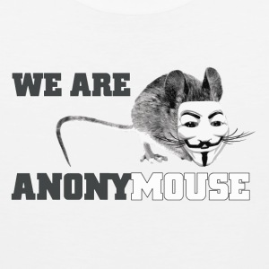 We are anony mouse - anonymous Kids' Shirts - Men's Premium Tank