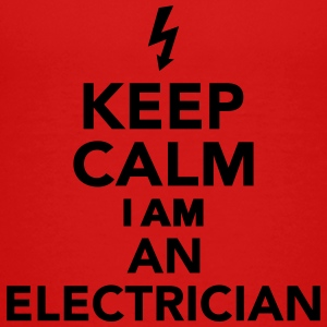 Keep calm I'm a electrician Kids' Shirts - Toddler Premium T-Shirt