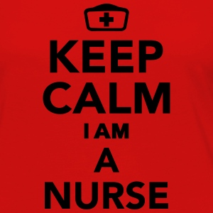 Keep calm I'm a Nurse Kids' Shirts - Women's Premium Long Sleeve T-Shirt