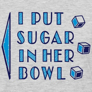 sugar in bowl - for men T-Shirts - Men's Premium Long Sleeve T-Shirt