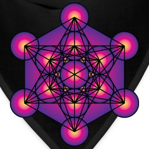 Metatron's Cube Men's Hooded Sweatshirt - Bandana