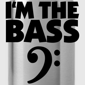 I'm the Bass Gold T-Shirt - Water Bottle