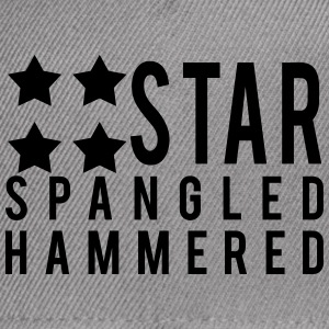 Star Spangled Hammered T-Shirts - Snap-back Baseball Cap