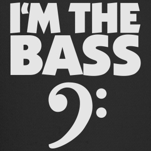 I'm the Bass T-Shirt (black) Clef - Trucker Cap