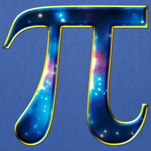 Pi π Symbol Math Mathematics Universe Galaxy Space T-Shirts - Tote Bag