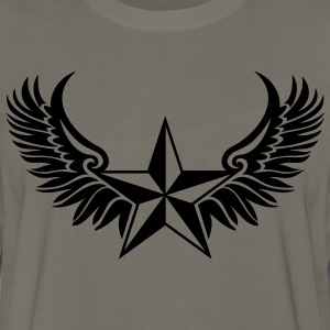 Nautical Star - Protection Symbol - Tattoo Style T-Shirts - Men's Premium Long Sleeve T-Shirt