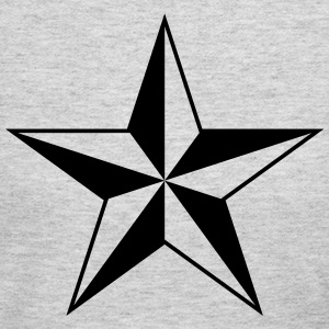 Nautical star protection guidance good luck symbol T-Shirts - Women's Long Sleeve Jersey T-Shirt