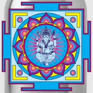 Ganesha Mandala Bandana - Water Bottle