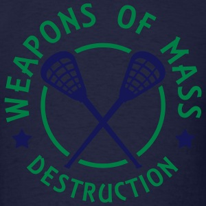 Lacrosse Weapons of Mass Destruction Long Sleeve Shirts - Men's T-Shirt