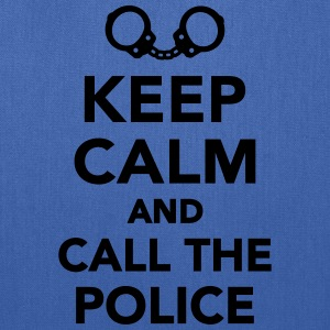 Keep calm call the Police T-Shirts - Tote Bag