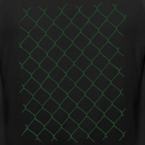 Chain link fence Shirt - Men's Premium Tank