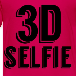 3D Selfie - Toddler Premium T-Shirt