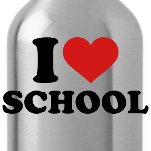 I love School Kids' Shirts - Water Bottle