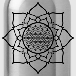 Lotus and Life T-Shirts - Water Bottle