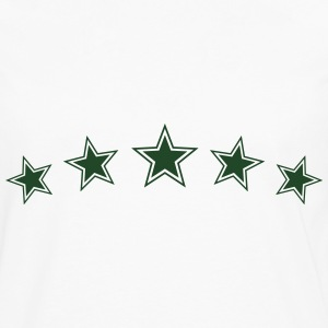 5 Gold Stars, Chef Winner Best Team Sports Award T-Shirts - Men's Premium Long Sleeve T-Shirt
