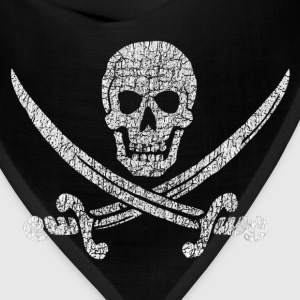 Distressed Jolly Roger - Bandana