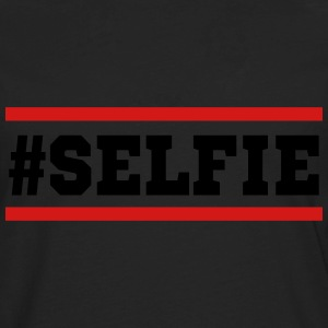 #SELFIE - Men's Premium Long Sleeve T-Shirt