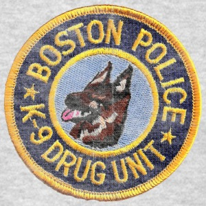 Boston Police K-9 Apparel T-shirts Sweatshirts - Men's T-Shirt