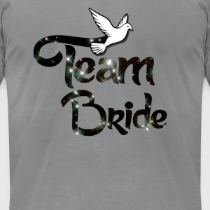 Team Bride Long Sleeve Shirts - Men's T-Shirt by American Apparel