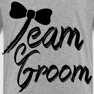Team Groom Kids' Shirts - Toddler Premium T-Shirt