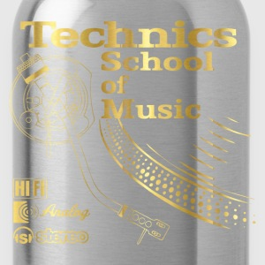 music gold T-Shirts - Water Bottle