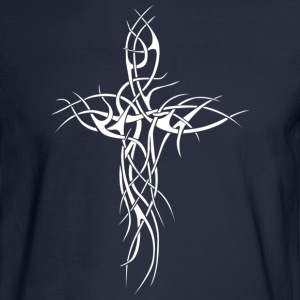 Cross01.png T-Shirts - Men's Long Sleeve T-Shirt