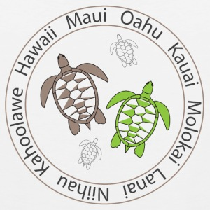 Hawaiian Turtles - Men's Premium Tank