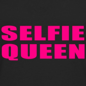 SELFIE QUEEN Caps - Men's Premium Long Sleeve T-Shirt
