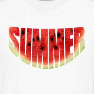 Summer watermelon T-Shirts - Men's Premium Long Sleeve T-Shirt