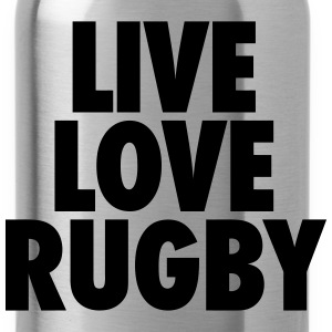 Live Love Rugby T-Shirts - Water Bottle