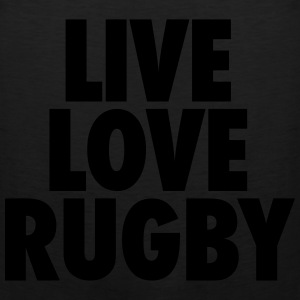 Live Love Rugby T-Shirts - Men's Premium Tank