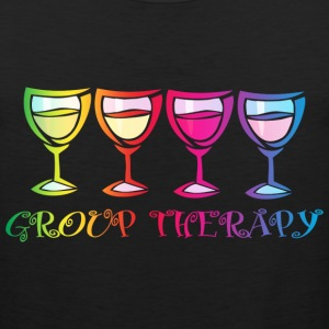Wine Group Therapy 2 Women's T-Shirts - Men's Premium Tank
