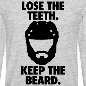 Playoff Beard T-Shirts - Men's Premium Long Sleeve T-Shirt