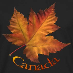 Women's Canada Hoodie Maple Leaf Souvenir Hooded S - Men's Premium Long Sleeve T-Shirt