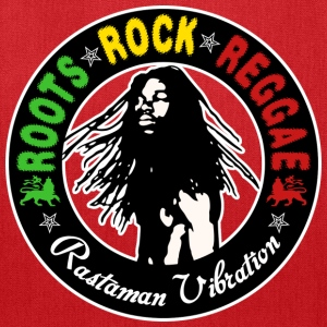 roots rock reggae rastaman vibration T-Shirts - Tote Bag