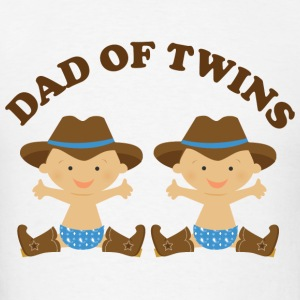 Dad Of Twins (boy babies) Hoodies - Men's T-Shirt