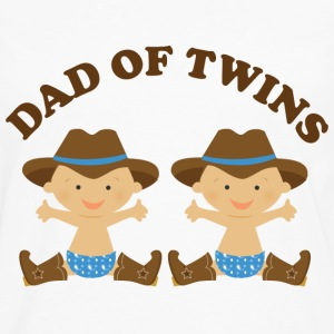 Dad Of Twins (boy babies) Hoodies - Men's Premium Long Sleeve T-Shirt